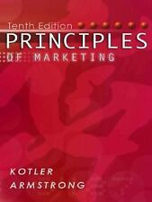 Principles of Marketing, 10th Edition, Philip Kotler, Gary Armstrong, Good Book
