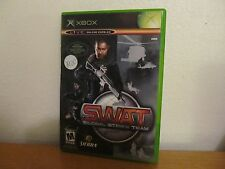 SWAT  GLOBAL STRIKE TEAM   XBOX  GREAT CONDITION WITH MANUAL
