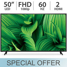 "VIZIO 50"" inch 1080p FULL HD LED / LCD FHD TV 60Hz with 2 HDMI D50N-E1"