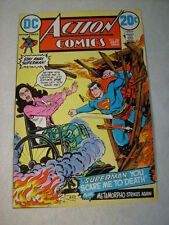 ACTION #416 COVER ART, original approval cover proof 1970's SUPERMAN, WHEELCHAIR