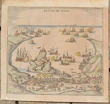 Penon de Velez de la Gomera, Penon de Veles-BRAUN HOGENBERG 1585 canaren