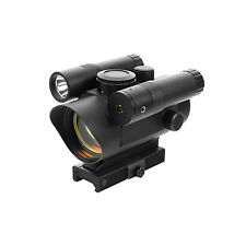 VISM Tactical Red Dot Scope w/ Green Laser + Light Fits BT TM15 Elite Markers