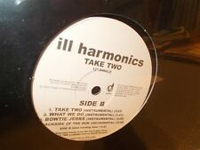 "* Ill Harmonics . Take Two . Sealed . 12"" EP"