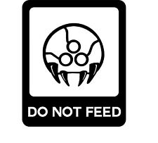 Decal Vinyl Truck Car Sticker - Video Game Metroid Do Not Feed