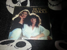 Rich And Famous Letterbox Laserdisc LD Free Ship $30 Orders