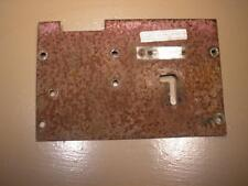 Wheel Horse Tractor Mower D-200 ID Plate