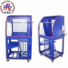 Multi-function  Screen Printing Frame Washout Tank with LED Backlight Equipment