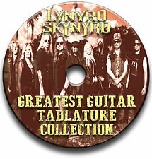 53 x Lynyrd Skynyrd ROCK CHITARRA schede tablature SONG BOOK CD software
