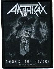 "Anthrax "" Among the Living "" Patch/Aufnäher 602465 #"