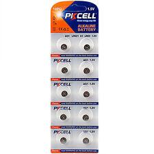 10X 364 LR60 AG1 521 SR60 1.5V Alkaline Coin Cell Watch Battery PKCELL CA Seller