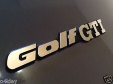 "MK2 GOLF REAR PANEL ""GOLF GTI"" badge! MIRROR CHROME, OEM QUALITY BRAND NEW!!'"