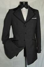 Exquisite NWT Gray formal Plam Beach tuxedo jacket size 37 L