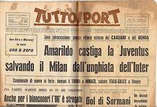 rivista TUTTOSPORT - 26/04/1965 N. 114 AMARILDO CASTIGA LA JUVENTUS