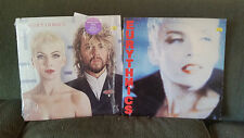 2 lp lot eurythmics synth w/shrink 1985 '86 annie lennox be yourself tonight s/t