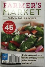 Farmers Market Farm To Table Recipes Appetizers No 50 2015 FREE SHIPPING!