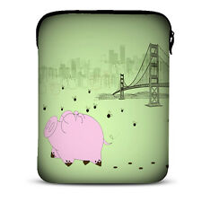 "Cute Pig 9.7"" Holder Tablet Bag Sleeve Case for iPad / 10.1"" Samsung Galaxy Note"
