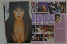 Elvira Cassandra Peterson pages clippings cuttings + Gary Moore Madonna Kylie