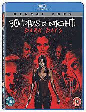 30 DAYS OF NIGHT: DARK DAYS HALLOWEEN VAMPIRE SEQUEL BLU-RAY 18 FREE UK POST