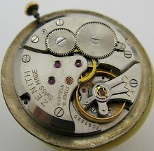 Zenith 2511 18 jewels watch movement & dial for parts ...