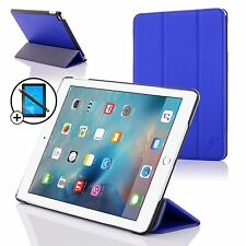 Pelle Blu Pieghevole Smart Custodia Cover Apple iPad Pro 12.9 Proteggischermo &