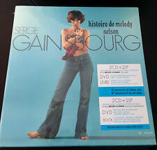 SERGE GAINSBOURG HISTOIRE DE MELODY NELSON 2 LP 2 CD 1 DVD 1 BOOK AUDIOPHILE