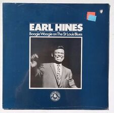Sealed EARL HINES: Boogie Woogie On The St. Louis Blues LP BLACK LION BLM52032