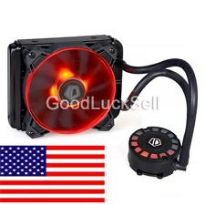 ID-COOLING 120L Water Cooler,Unique Comet-tail LED Light, 120mm Radiator,PMW Fan