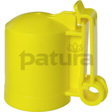 200 Stück PATURA Kappenisolator für Metallpfahl T-Post T-Pfosten