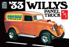 "AMT 1/25 1933 '33 Willys Panel truck Plastic Model Kit #879 ""Bread Baron"""