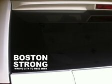 "Boston Strong vinyl window sticker decal 6"" *C13* marathon memorial pride city"