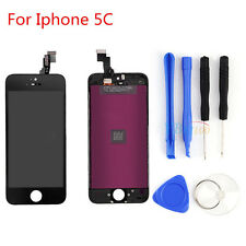 3C7 Black LCD Touch Screen Display Digitizer Assembly Replacement For iPhone 5C