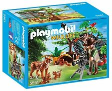 Playmobil 5561 Adventure Tree House Lynx Family & Cameraman