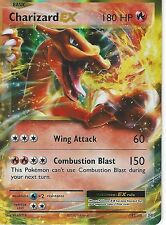 POKEMON XY EVOLUTIONS - CHARIZARD EX 12/108 PRIME HOLO - HALF ART