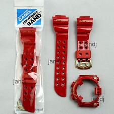 ORIGINAL CASIO G-SHOCK BAND & BEZEL for FROGMAN GF8230A GF-8230A-4, RISING RED