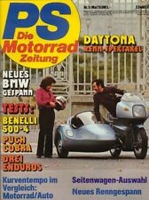 PS7805 + Test BENELLI 500 LS + Langstreckentest PUCH Cobra 6 GT + PS 5/1978