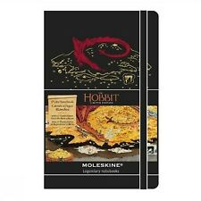 Moleskine The Hobbit Limited Edition Hard Plain Large Notebook 2013 - Black