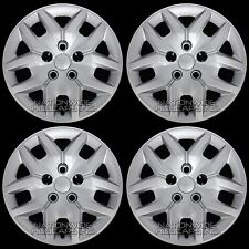 "4 New 2014-16 Grand Caravan 17"" Bolt on Hub Caps Full Rim Covers fit Steel Wheel"
