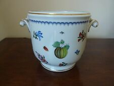 Richard Ginori Porcelain ITALIAN FRUITS Medium Cache Pot Planter Jardiniere