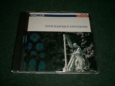 Your Baroque Favourites~RARE 1986 Japan Import Denon Digital CD~FAST SHIPPING!!!