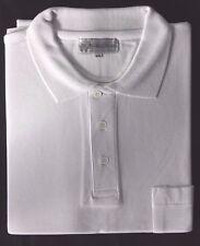 Dr. Wünsche Polo Shirt Hemd mit Knöpfen Freizeit Weiß Gr.XXL Neu