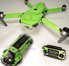 DJI Mavic Lime Green Ultimate Graphic Wrap kit -Underside Decal Skin Sticker