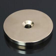 MAGNETI NEODIMIO 50x5mm FORO SVASATO 6mm CALAMITA CALAMITE MAGNETE N52