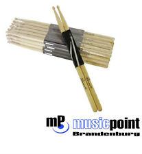 10 Paar DIMAVERY DDS-5A Drumsticks, Eiche Schlagzeug-Stöcke Sicks Trommel