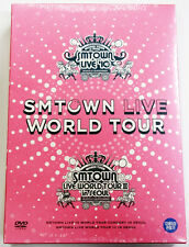 SMTOWN Live World Tour in SEOUL DVD EXO, Super Juinor, SNSD, SHINee, f(x),TVXQ