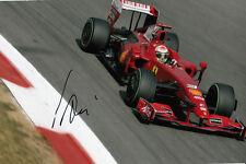 Giancarlo Fisichella Hand Signed Scuderia Ferrari Photo 12x8.