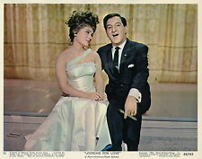 CONNIE FRANCIS  JIM HUTTON LOOKING FOR LOVE  1964  VINTAGE PHOTO LOBBY CARD N°1