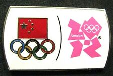 LONDON 2012 Olympic CHINA NOC Internal team - delegation pin
