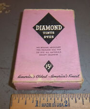 Vintage Diamond Dyes Orchid, Wells & Richardson Company, Burlington VT