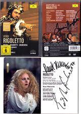 DVD Edita GRUBEROVA FURLANETTO CHAILLY Signed VERDI RIGOLETTO Pavarotti WixelL