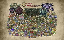 """035 Chrono Trigger - Role Playing Video Game 22""""x14"""" Poster"""